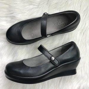 ALEGRIA FLAIR BLACK NAPPA Size 9